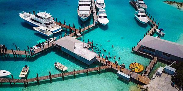 Flights to Compass Cay Exuma View